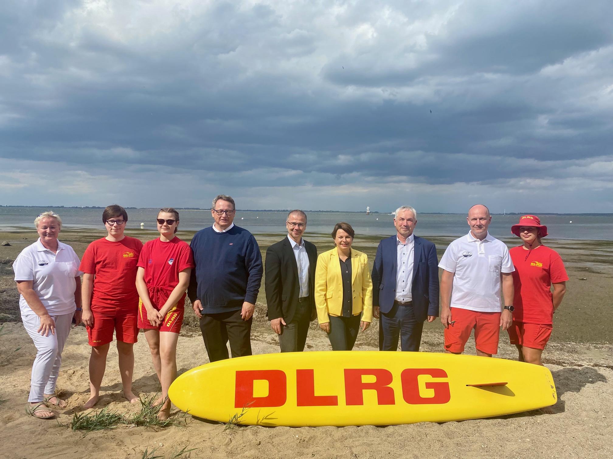 Besuch DLRG